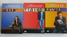 3x Dr. HOUSE - Staffel 1 + 2 + 3 - DVD Box Sammlung (Deutsch)