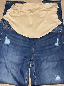 New Moda Maternity Size 6 Denim Jeans