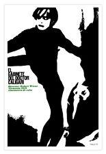 "Movie Poster""Doctor CALIGARI Cabinet""German art by Robert Wiene.Spanish decor"