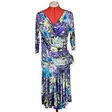 BLUMARINE NEW Women Skirt Suit Size L Womens Stretch Summer Suit Size 46 10