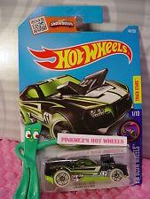 Case G/H 2016 i Hot Wheels TWINDUCTION #46☆black/green; pr5☆HW GLOW WHEELS