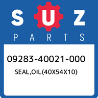 09283-40021-000 Suzuki Seal,oil(40x54x10) 0928340021000, New Genuine OEM Part