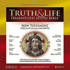 Truth and Life Dramatized Audio Bible 18 Sealed New Testament CDs RSV-SE