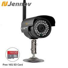 Jennov HD 720P Wireless Security IP Camera Bullet Outdoor 16G TF/SD Card 1.0MP