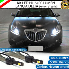 KIT LED H1 ABBAGLIANTI LANCIA DELTA III (xenon di serie) LED H1 6000K 6400 LUMEN