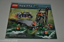 Lego Agents 8632 Swamp Raid INSTRUCTION MANUAL BOOK ONLY ABBO