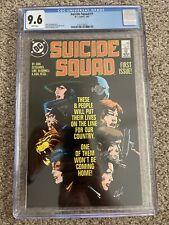 Suicide Squad #1 - CGC 9.6 NM+ WP! (1987)