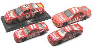 1:18 Ertl Chevrolet Monte Carlo #11 Bill Elliott+1/24 Ford T-Bird+#50 Craven