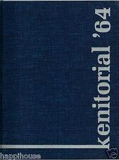 1964 Kenmore West High School Yearbook - Kenmore NY KENITORIAL (YB)
