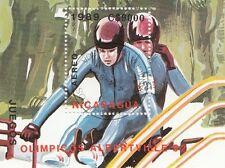 (87702) Nicaragua CTO Used Olympics Albertville 1989