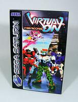 VIRTUAL ON Cyber Troopers für Sega Saturn Spiel UNGEÖFFNET in OVP Sega SS