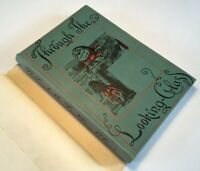 Through The Looking Glass, 1948, Dust Jacket, Illustrated Vintage Hardback Book