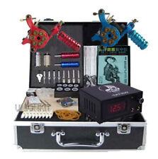 New Professional Tattoo Kits 2 Hardness Tattoo Machines Complete Equipment Sets