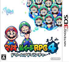 Mario & Luigi RPG 4: Dream Adventure (Nintendo 3DS, 2013) - Japanese Version