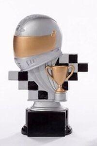Motorsport-Pokal (Resin-Figur) mit Wunschgravur (39138)