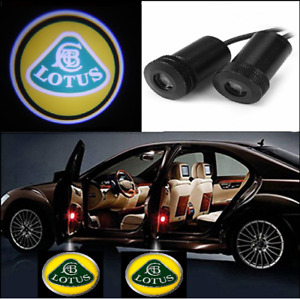 2X LED Car Door Welcome Light HD Logo Courtesy Projector Ghost Laser Lotus