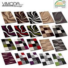 Designer Teppich Modern Wellen Muster Konturen versch Farben und Muster - NEU