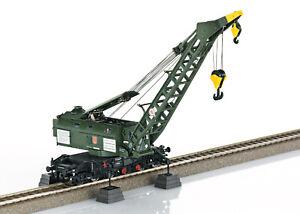 Trix 23457 Spur H0 Dampfkran Bauart 058 (Ardelt) der DB mit Kranschutzwagen #NEU