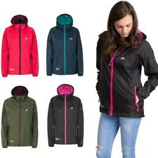 Trespass Qikpac Ladies 5000mm Waterproof Hooded Jacket with Packaway Pouch