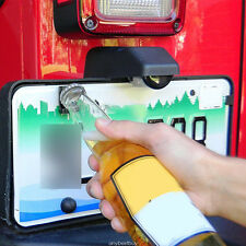 Cool Summer Fun Rear License Plate Mounted Bottle Opener For Jeep Wrangler JK TJ