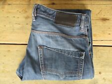 DIESEL JEANS KROOLEY (32/34x33) SLIM-CARROT 0880G FADED BUTTON-FLY - Excellent u