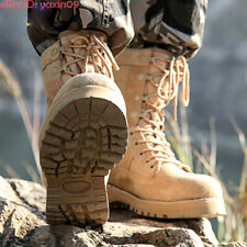 Men Waterproof Army Tactical Boots Military Combat Climbing Work Boot SWAT Shoes