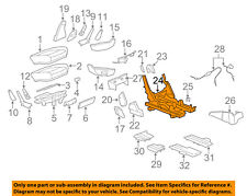 Buick GM OEM 11-16 Enclave Second Row Back Rear Seat-Seat Adjuster Left 20916160