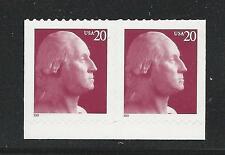 3482 & 3483 Pair 20¢ George Washington Mint Never Hinged