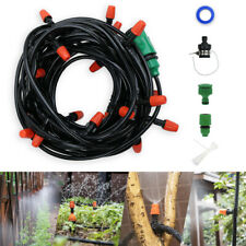 15m/50ft Micro Drip Irrigation System for Garden Plant, Sprinkler System Kits
