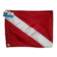 Nylon Scuba Dive Flag, Slip on Style, 14x18