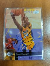 Kobe Bryant Upper Deck 2009-2010 hand signed Autographed Card VS Authentic Auto