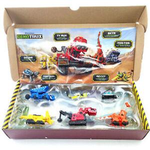 Mattel Dinotrux Dozer Ty Rux Skya Ton-Ton Diecast Dreamworks Toy Original Box