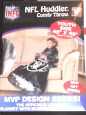NFL Oakland Raiders Comfy Huddler Blanket Officially Licensed New