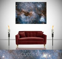 Milky Way Heart Space Astronomy Galaxy Spectacular Giant Poster Wall Art Print