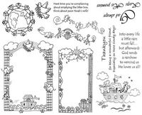 Unmounted Stamps Sheets, Christian Stamps, Noahs Ark, Angels, Christian Sayings