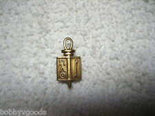 Scroll Fraternal / Religious Pin Brooch Vintage 10K Solid Yellow Gold 1953