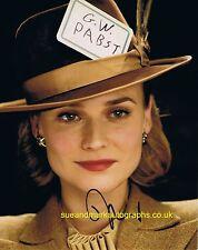 Diane Kruger Bridget Hammersmark Inglourious Basterds Autograph UACC RD 96