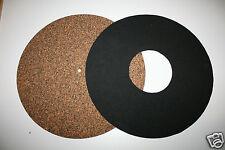 OscarsAudio Cork/rubber & Neoprene Turntable  Mat *twin mat **BEST VALUE**
