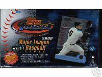 2000 Topps Finest Series 1 & 2 Baseball Card Boxes