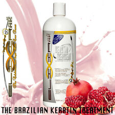 BRAZILIAN KERATIN HAIR STRAIGHTENER TREATMENT POMEGRANATE ELIXIR 1L | DIY ATHOME