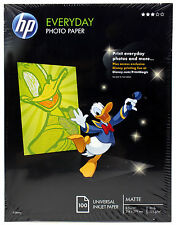 "HP Everyday Matte Photo Paper 100 Sheets 8.5 x 11"" 125gsm (C7007A)"