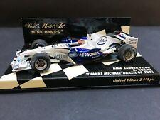 Minichamps - Robert Kubica - Sauber BMW - F1.06 -1:43 -2006 - Brazil GP - Rare