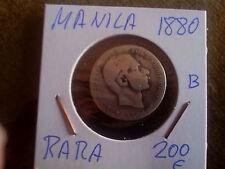 MANILA ......... 20 CENTAVOS.........1880........ALFONSO XII