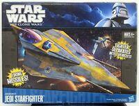 2011 Star Wars The Clone Wars Jedi Starfighter Hasbro Anakin's MISSING INSTRUCTI
