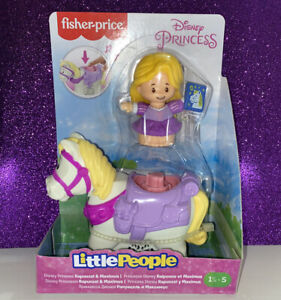 Fisher-Price Little People DISNEY PRINCESS RAPUNZEL HORSE MAXIMUS Tangled SOUNDS