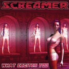 SCREAMER-What Excites YouCD Crimson Glory,Queensryche,Lethal,Fifth Angel,Private