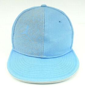 Air Jordan Jumpman Adult Embroidered Baseball Cap Hat Lt Blue Fitted Size 7 3/8