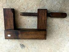 n°10 ) old tool, outil ancien, serre joint de menuisier, ébéniste