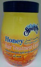 1000g SomeijiS Honey Hair Treatment Cream Helps Prevent Split Ends & Breakage.