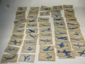 VINTAGE CARRERAS TURF CIGARETTE CARDS British Aircraft SELECTION CHOOSE